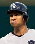 Alex Rodriguez pouting