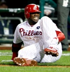 Ryan Howard down