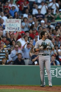 Nomar the Athletic at Fenway